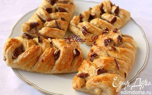 Датские булочки с пеканом и кленовым сиропом | Кулинарные рецепты от «Едим дома!»