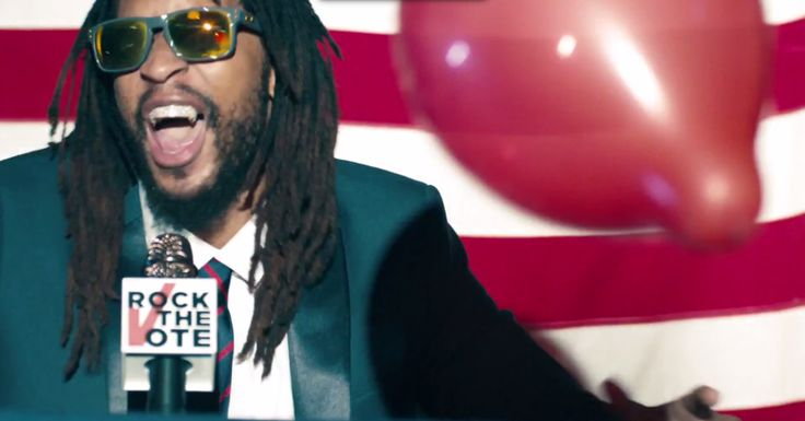 Lena Dunham, Lil Jon Team for Rock the Vote's 'Turn Out for What' Video #TURNOUTFORWHAT  to ROCK THE VOTE !!