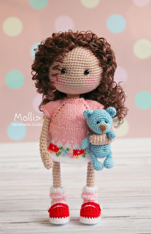 3312 besten Amigurumi - Puppen gehäkelt Bilder auf Pinterest ...