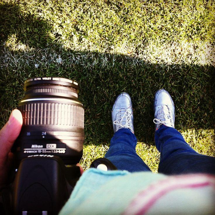 Zapatillas, un día viendo fútbol, Chile