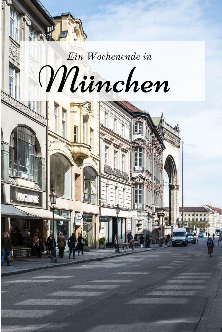 Viele Tipps für ein entspanntes Wochenende in München, jenseits von Oktoberfest, Lederhosen und Bierzelten.