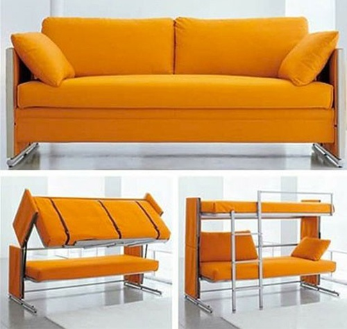 17 best images about sof cama on pinterest space saving - Sofa cama convertible litera ...
