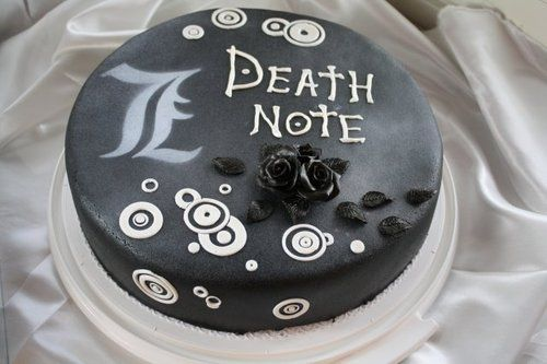 deathnote cake | Death Note cake