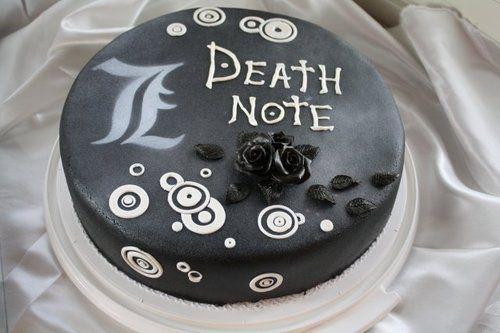 deathnote cake | Death Note cake