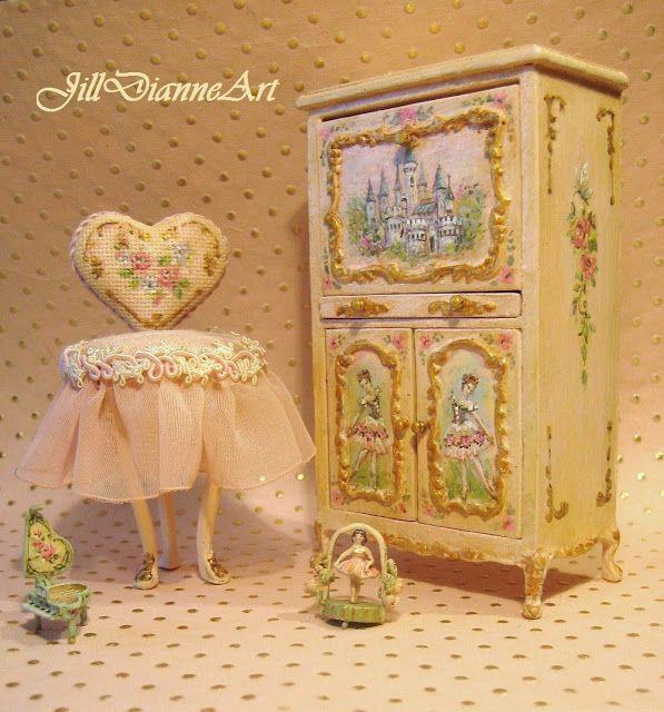 Jill Dianne Art: Miniature Art