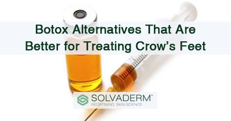Botox Alternatives That Are Better for Treating Crow's Feet #skincare #botox