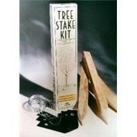 Eaton 262100 Tree Stake Kit by Eaton. $12.39. Garden stake is a year-round standard. Each kit contains 3 notched, pointed hardwood stakes, 3 ot 10-inch poly straps, and 30-feet of galvanized wire. Protect a young tree from wind and storm damage. Tree stake kit. An attractively packaged kit containing everything needed to protect a young tree from wind and storm damage. Each kit contains 3 notched, pointed hardwood stakes, 3 to 10-inch poly straps, and 30-feet of galv...