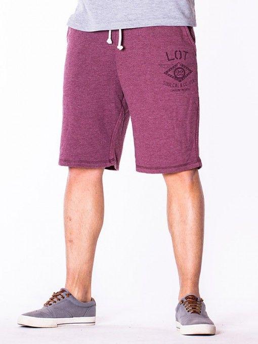 Pantaloni scurti barbati LOT rosii