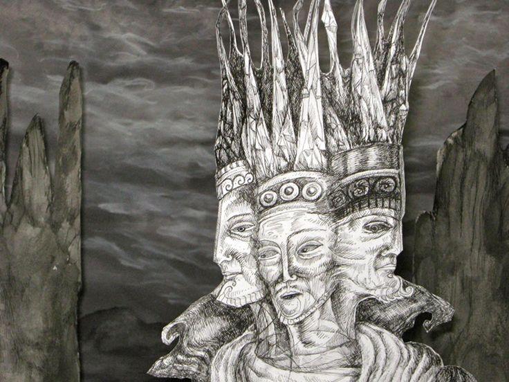 """""""secrets of a tale"""" the three kings  close by Tamara Jordan"""