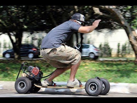 Skate Motorizado CARVE MOTOR 50cc, DROPBOARDS.COM - YouTube
