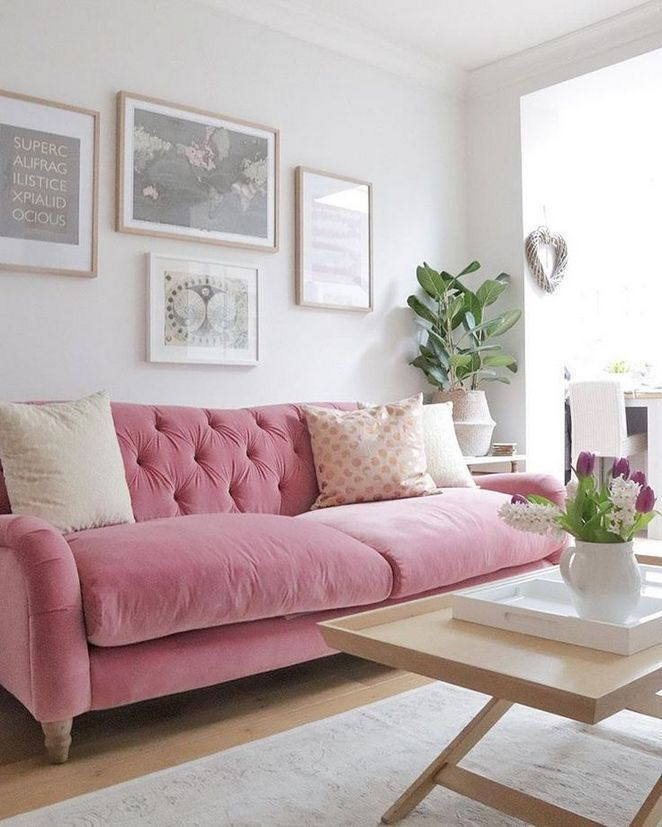 24 Pink Couch Living Room Ideas Guide Enakhome Com Pink Couch Living Room Pink Sofa Living Room Couches Living Room