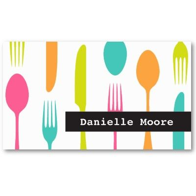 Catering or Chef Business Card