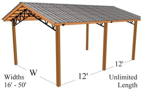 Pole Barn Metal Trusses
