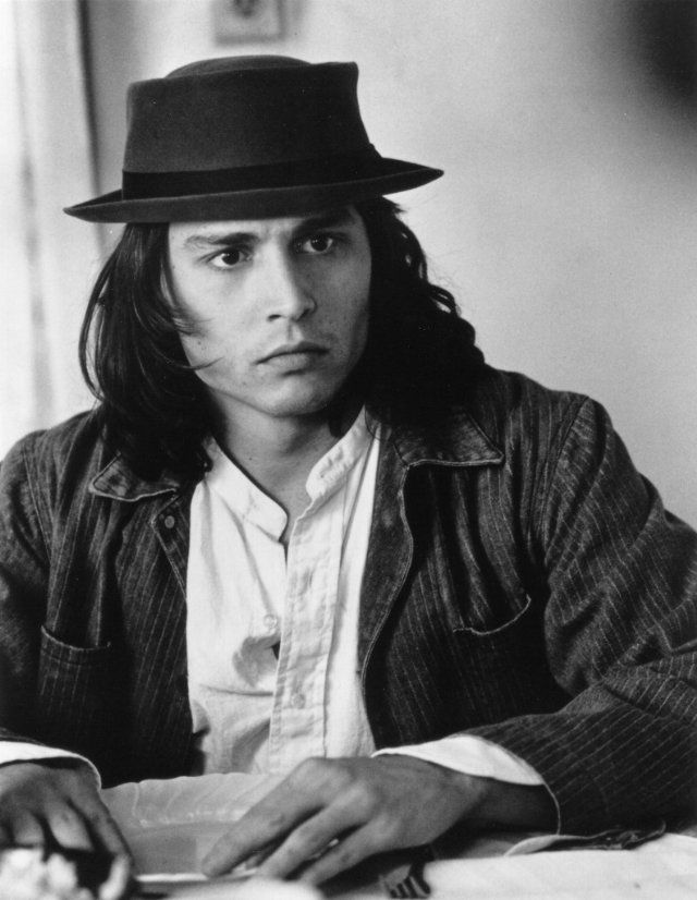 Benny and Joon. Johnny Depp...remember Amy how many times we watched this movie!