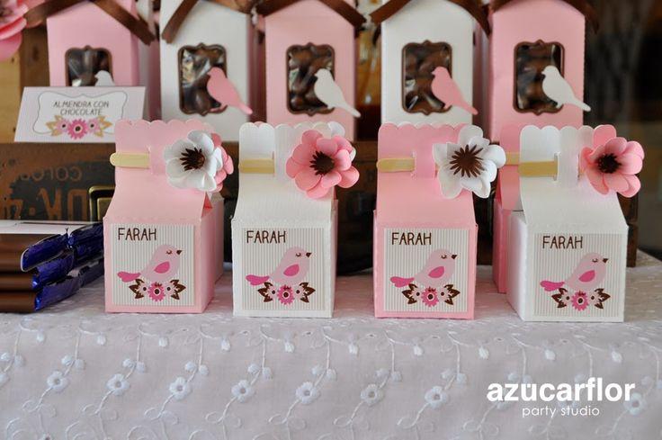 AZUCAR FLOR party studio: Mesa de dulces de pajaritos (FARAH)