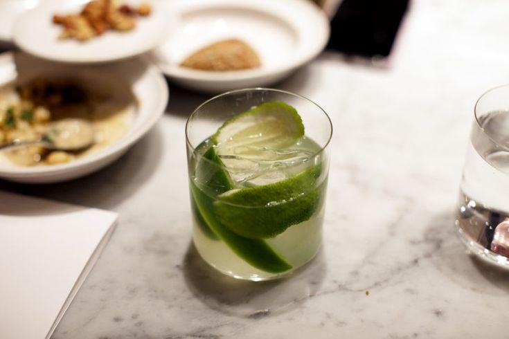 Från Elsa.elle.se  Alkoholfri drink med bergamott, grön paprika och lime