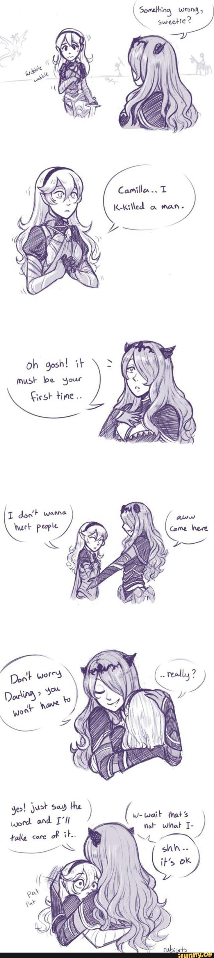 Fire Emblem: Fates Corrin and Camilla