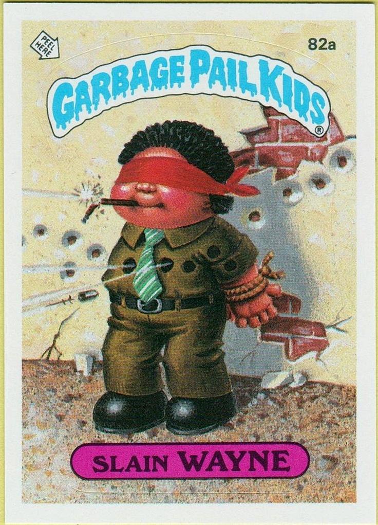 1179 Best Garbage Pail Kids Images On Pinterest Garbage