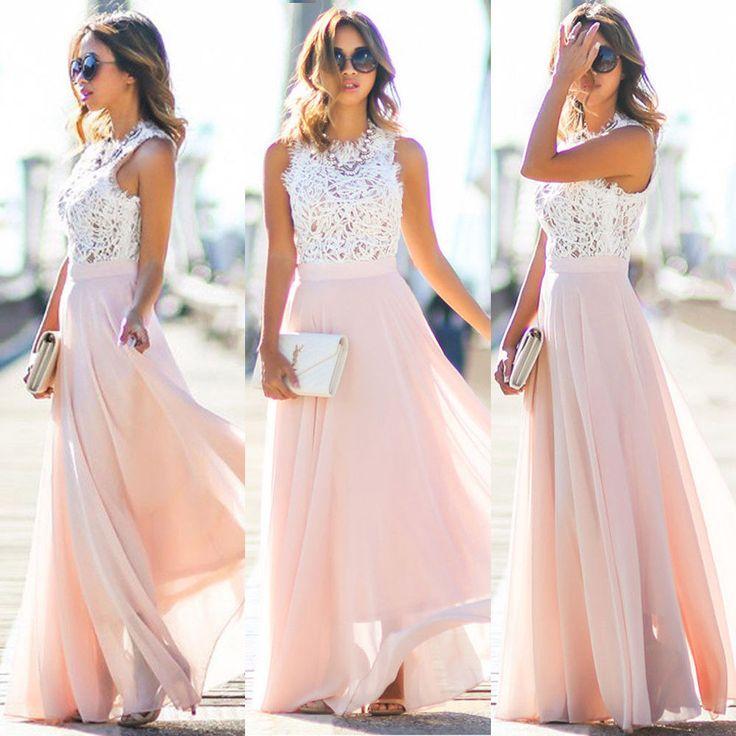 Les 25 meilleures id es concernant robe mousseline sur for Robes de mariage maxi uk
