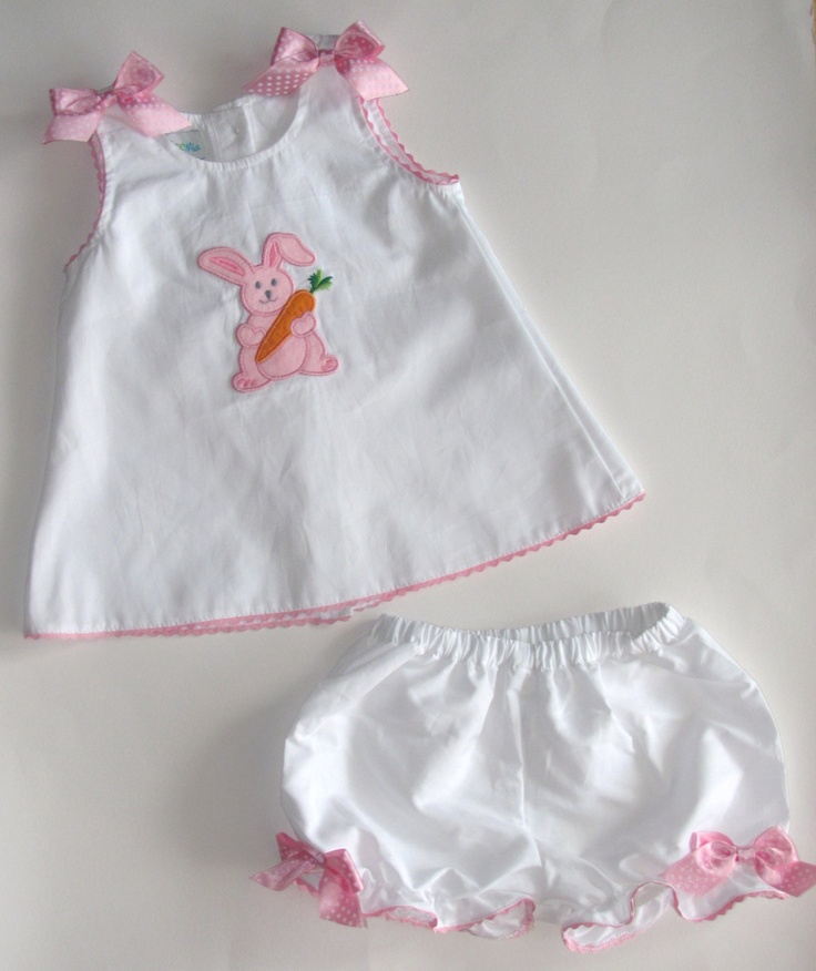 Easter outfit for baby girls szs Newborn, 3m,6m,9m,12m, Personalized baby girl dresses oufit FREE monogram