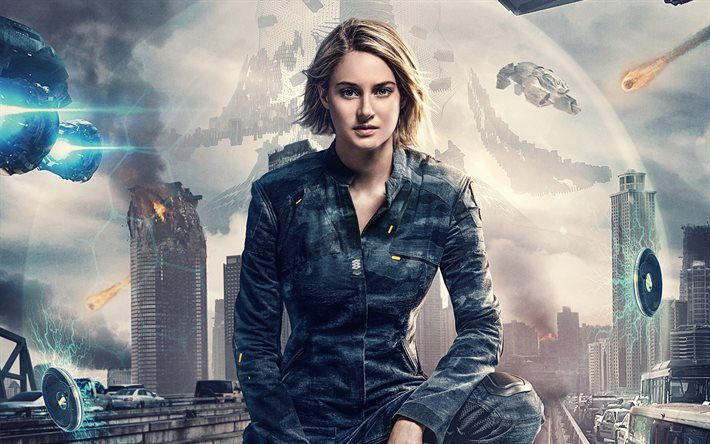 The Divergent Series, Allegiant, 2016, Season 3, Shailene Woodley, Шейлин Вудли, Дивергент, фантастика