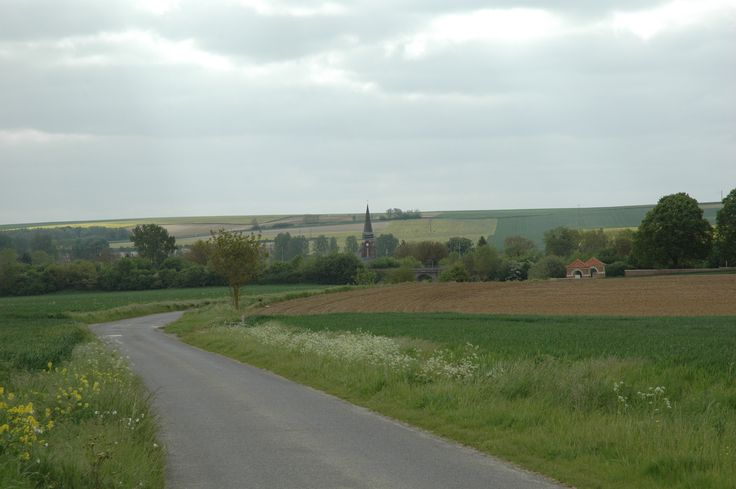 Dernancourt May 2016 taken from the old 52nd battalion position.