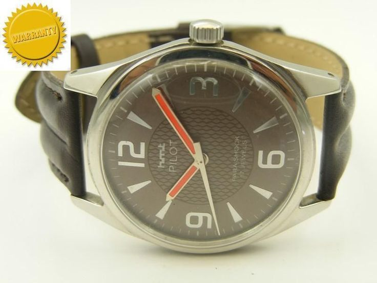 RARE MECHANICAL HMT PILOT WINDING INDIAN MENS WRIST WATCH #Collectible