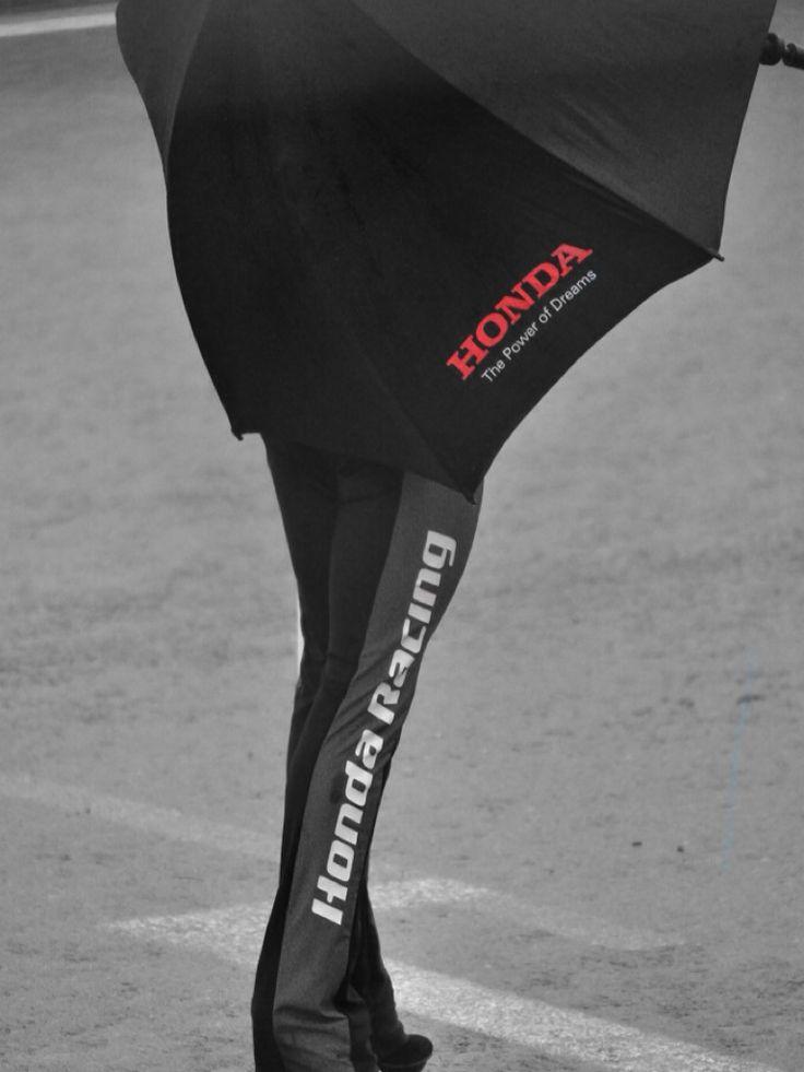 Honda. #gridgirl