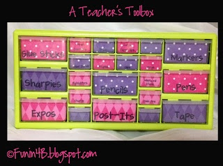 Classroom Freebies Too: Teacher Toolbox Template