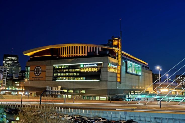TD Garden, home of the Boston Celtics of the NBA and the Boston Bruins of the NHL - Boston, MA