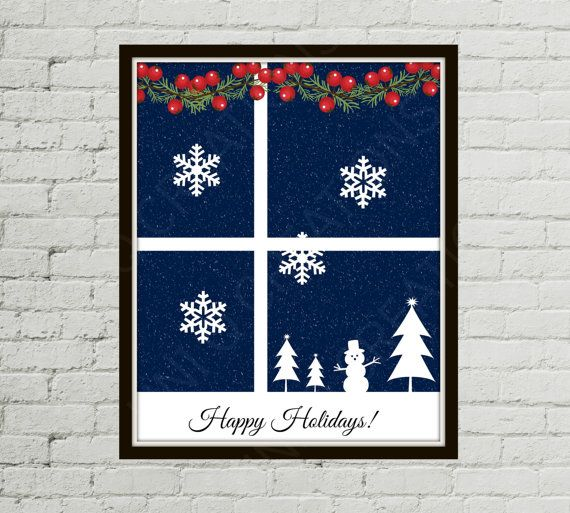November Finds - Holiday Decor and More  by W.M. Tanner on Etsy
