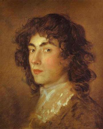 Handsome youth: Gainsborough Dupont, Thomas Gainsborough's nephew, 1770s