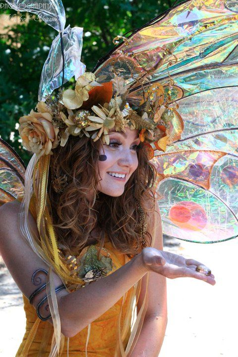 Twig The Fairy at the Colorado Renaissance Festival by Michele Shank