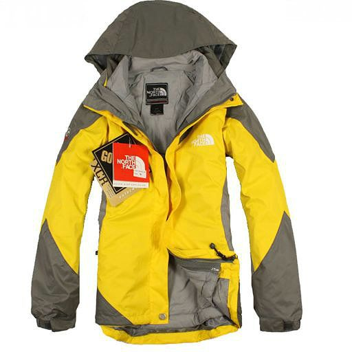 Cheap 2012 North Face Gore Tex XCR Women Jacket Yellow uk  http://www.outdoorgeargals.com