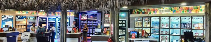 Dominican Republic Duty Free Shopping at Punta Cana Intl airport