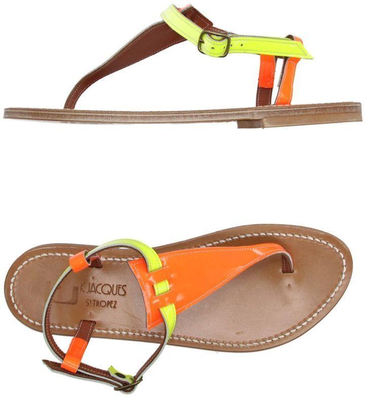 K Jacques St Tropez K.JACQUES ST. TROPEZ Toe strap sandals