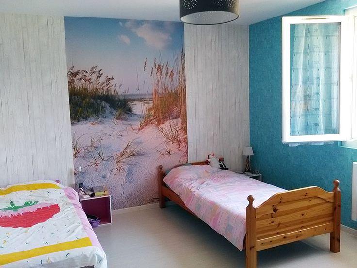 """Poster """"Derrière les dunes"""" en photo chez Brigitte"""