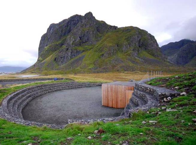 Snohetta, Eggum Site, Lofoten, Norway