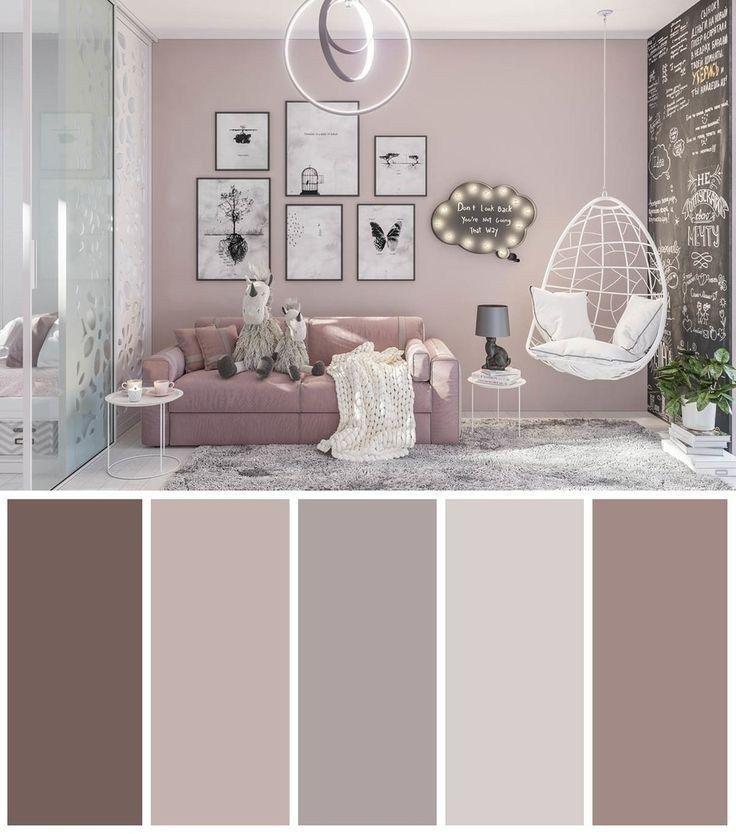 34 Wohnzimmerfarben, die Ihren Raum elegant ersche…