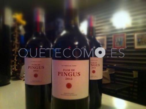 Vino Flor de Pingus 2012 | Restaurante tapería cafetería Cantina Galopín en Santiago de Compostela, A Coruña