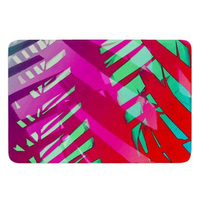 East Urban Home Hot Tropical by Alison Coxon Bath Mat