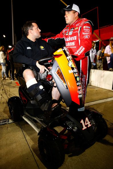 Tony Stewart - Federated Auto Parts 400 9-7-13..... Congratulations Ryan Newman on making the chase.