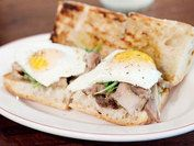 fried egg sandwhich | Food and drink | Pinterest