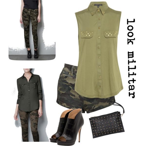 """look militar"" by titimorales"