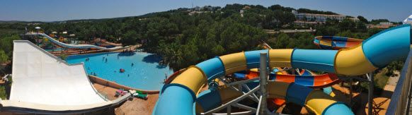 Waterslide at Marina Parc Hotel #Menorca