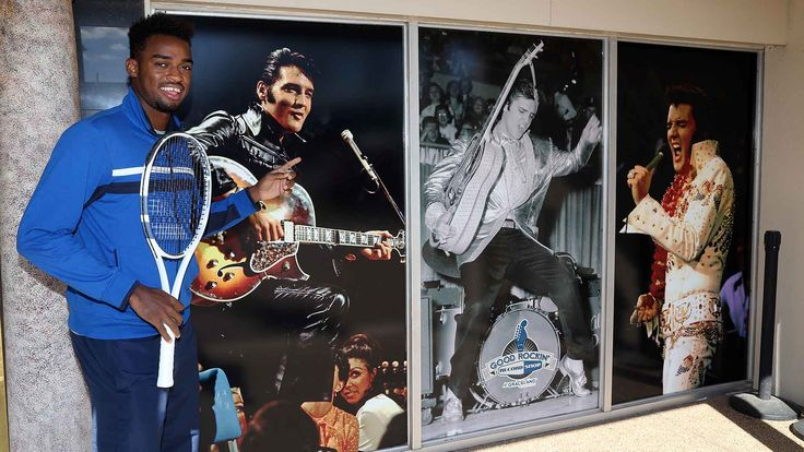 #atp #tennis #news  Memphis Open Star King Visits The King