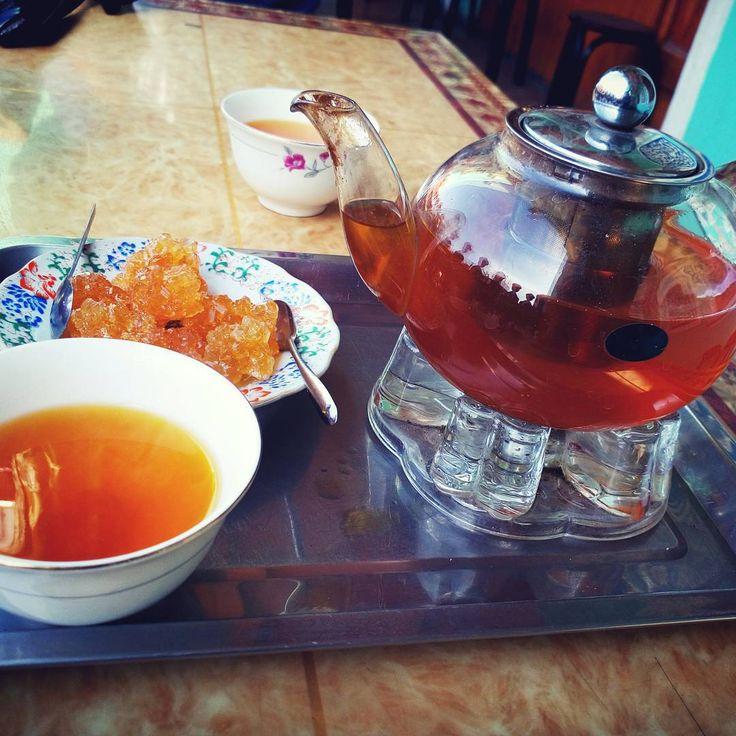 """""""喀什百年老茶館。A hundred year old tea house in kashgar. #tea #teahouse #kashgar"""""""