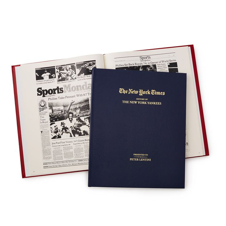 Retraces the history of your favorite team through beautifully reprinted coverage from The New York Times.