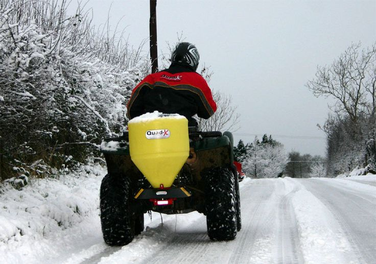 Quad-X Quad/ATV Snow Plough/Snow Blade & Salt Spreader - WINTER PACKAGE