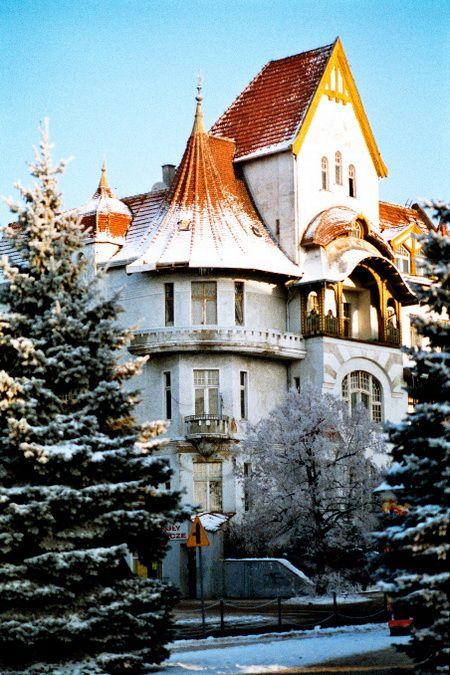 WINTER IN OLSZTYN - POLAND